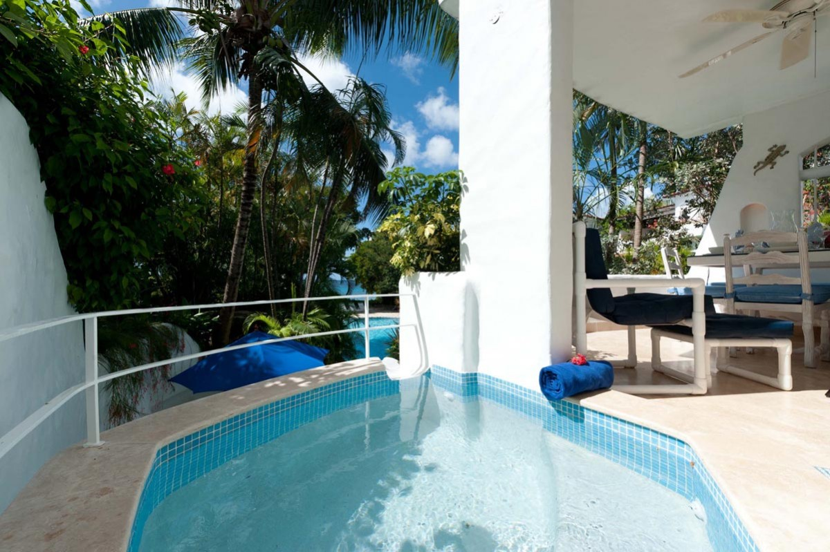 Privé zwembad, Resortvilla, Merlin Bay Barbados, 6 personen